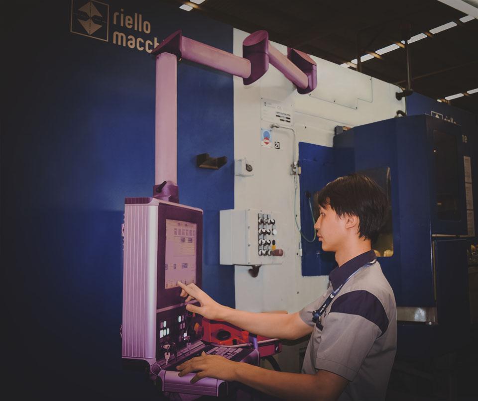 factory riello web matte